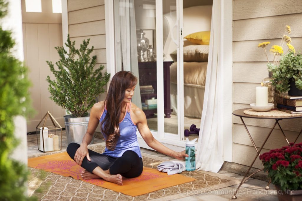 Epcon_Courtyard_Lifestyle_Yoga