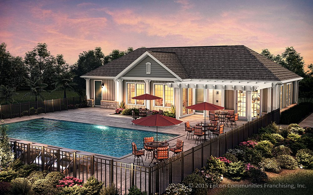 Epcon_Exterior_Small_Clubhouse_Pool_Gray