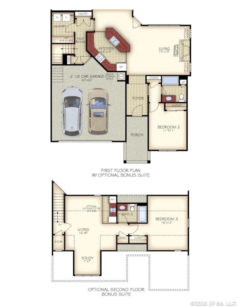 Portico Floor Plan_Charlotte_Pg2