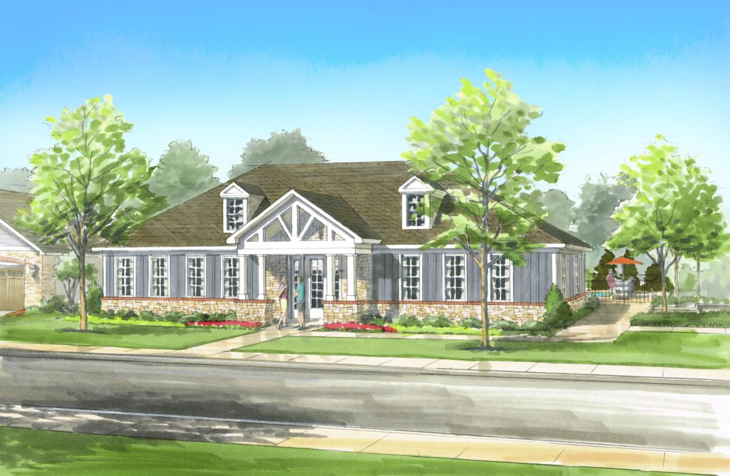Wesley Chapel_Clubhouse Rendering
