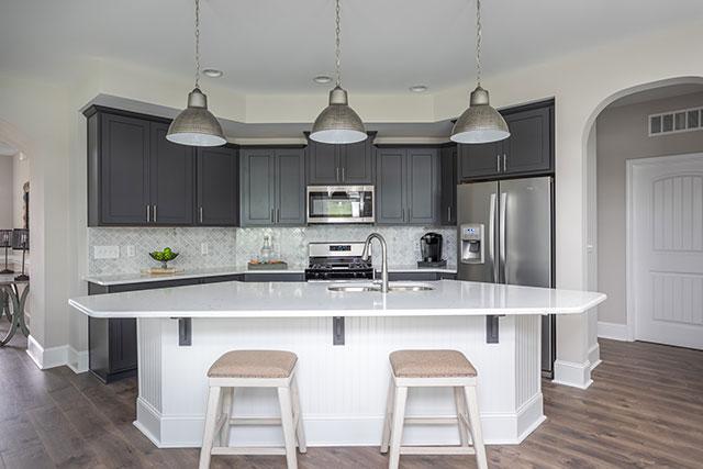 evergreen model kitchen