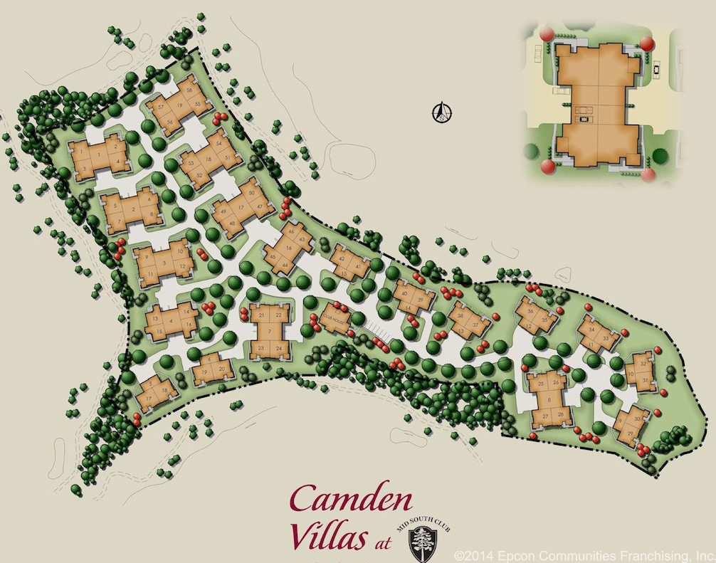 camdenvillas-site plan