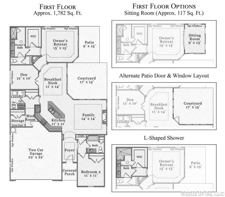 Portico Classic floorplan layout