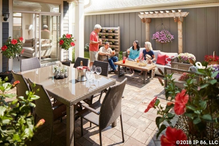 epcon courtyard lifestyle