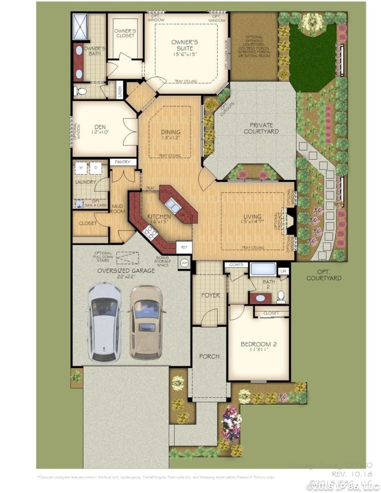 Portico Home Plan-page-001-heritage