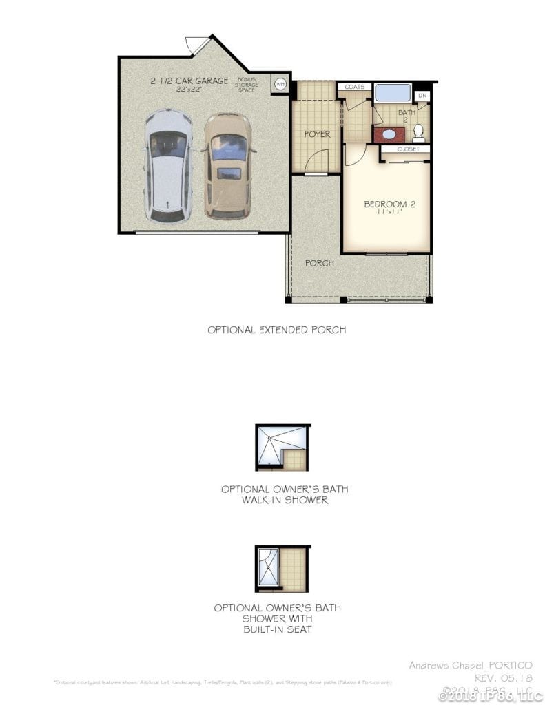 Portico Home Plan-page-003-andrews chapel-kildaire farms