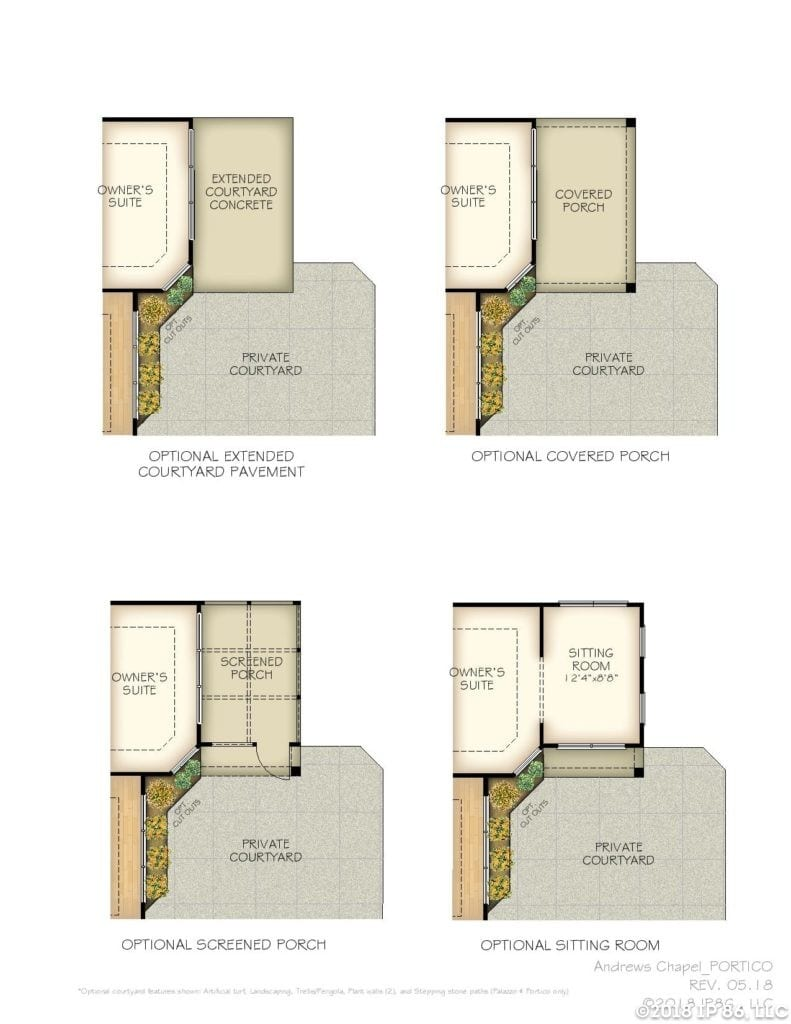 Portico Home Plan-page-004-andrews chapel-kildaire farms