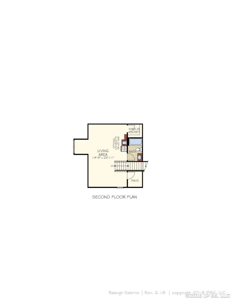 Salerno Home Plan-page-003-andrews chapel-kildaire farms