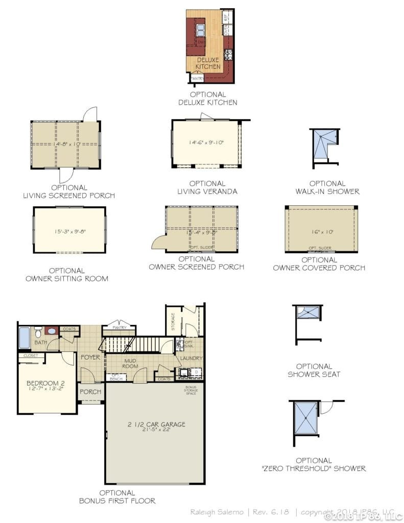Salerno Home Plan-page-004-andrews chapel-kildaire farms
