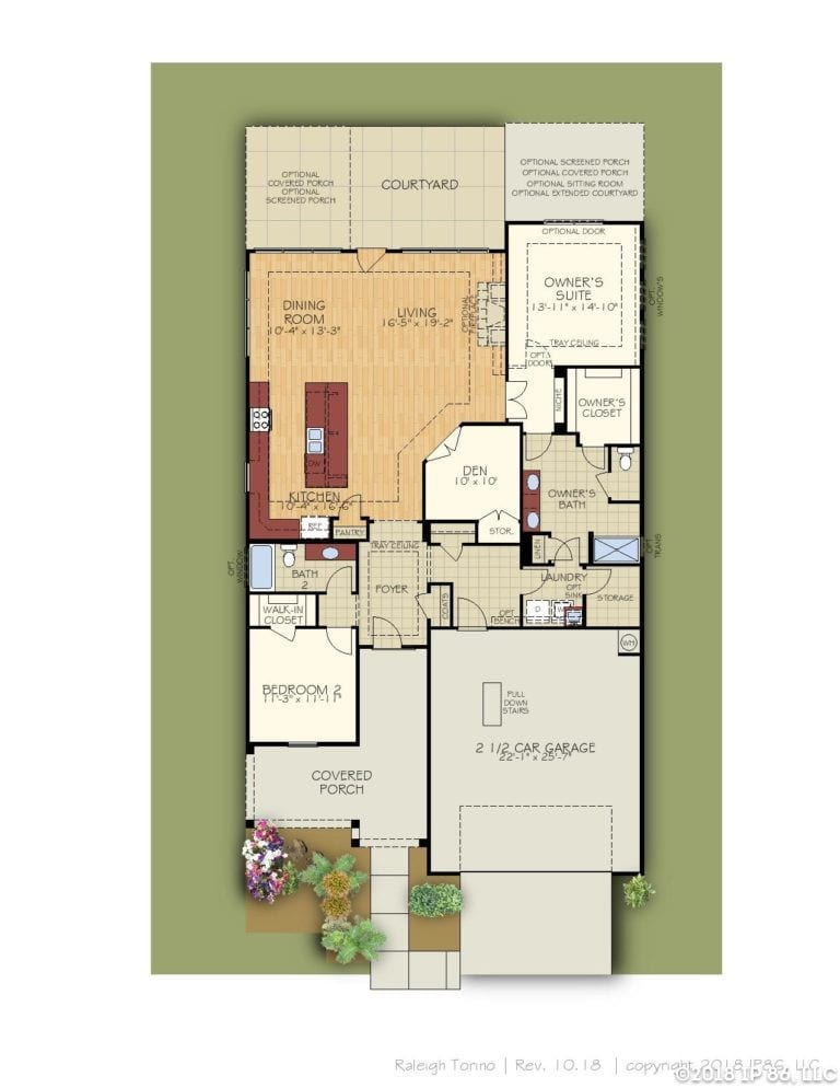 Torino Home Plan-page-002-andrews chapel-kildaire farms