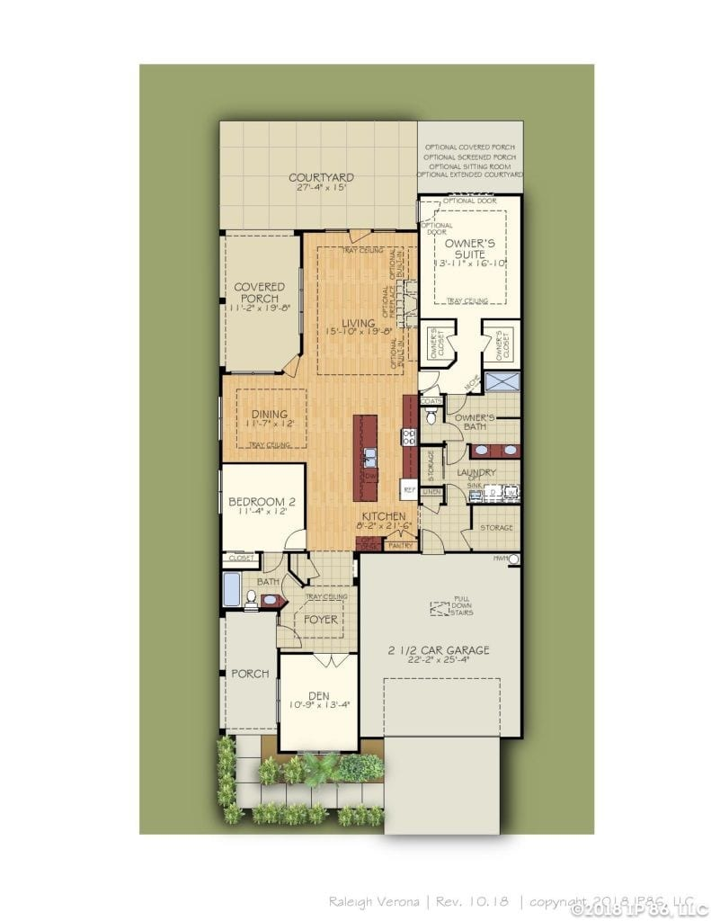 Verona Home Plan-page-002-andrews chapel-kildaire farms