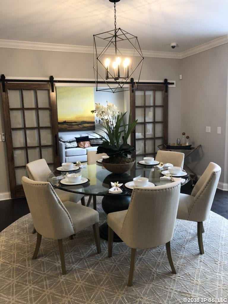 Promenade III Model-Muirfield-Dining