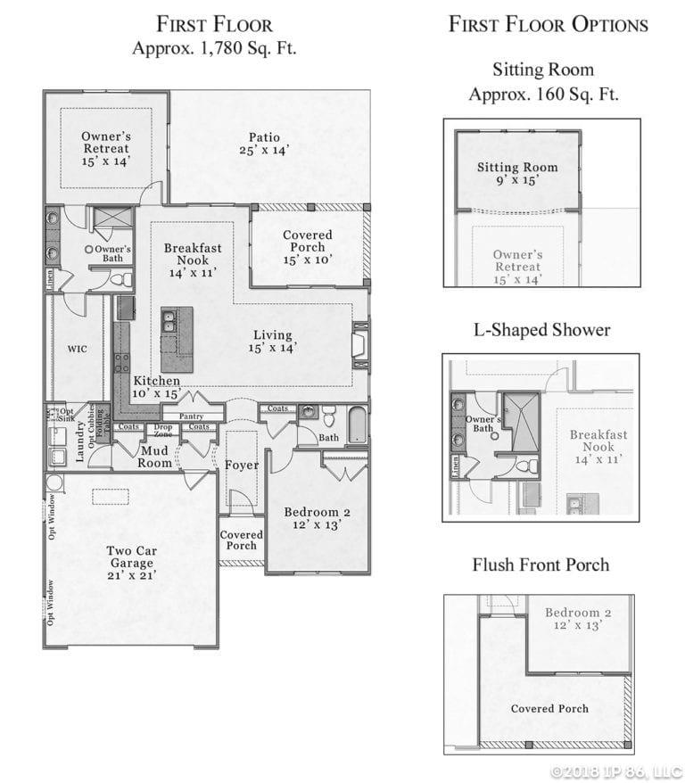 salerno_craftsman_bw_floorplan-layout
