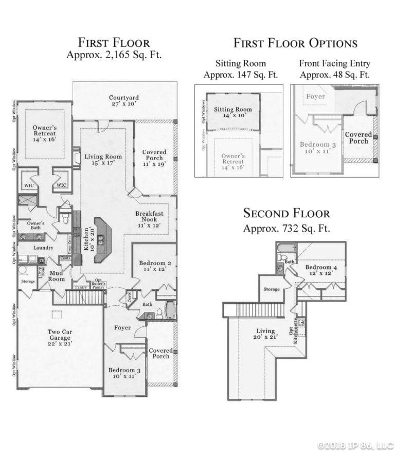 Verona Bungalow floor plan
