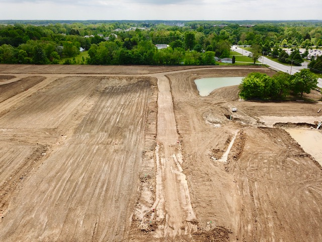 courtyards at new albany land development progress_may 2019