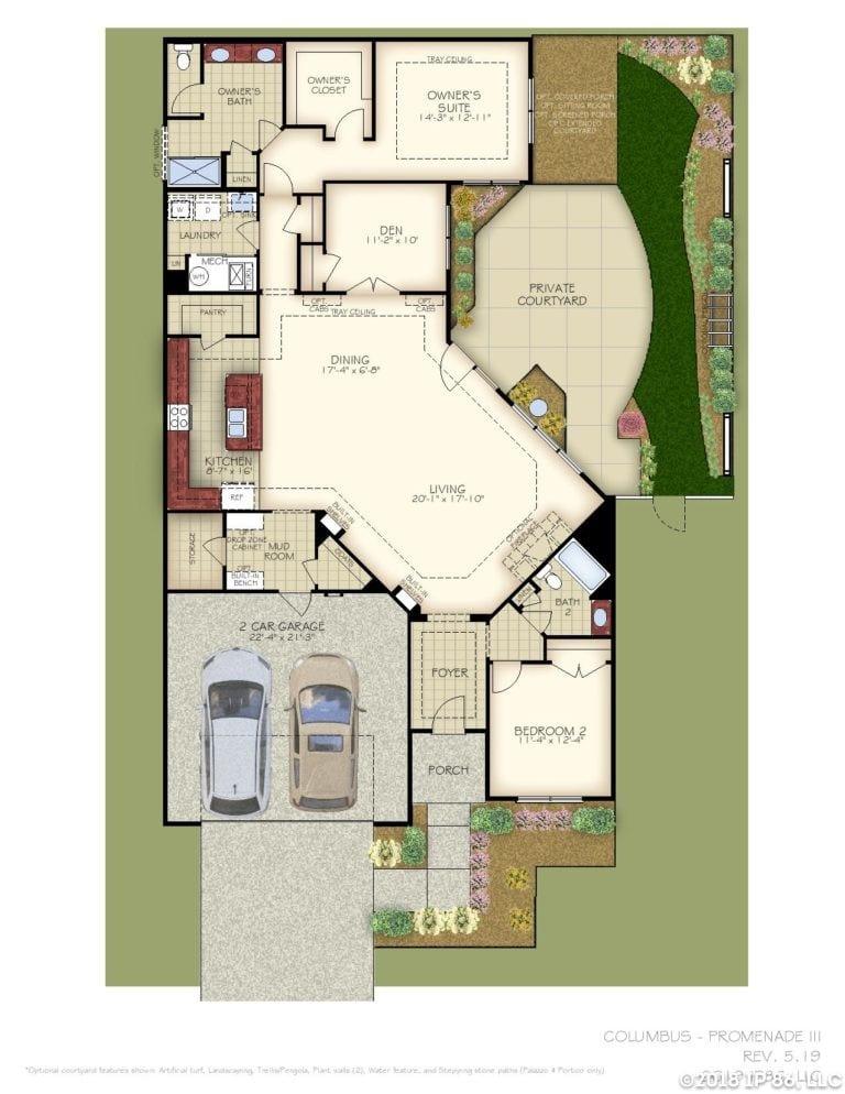 Promenade III Home Plan-page-001