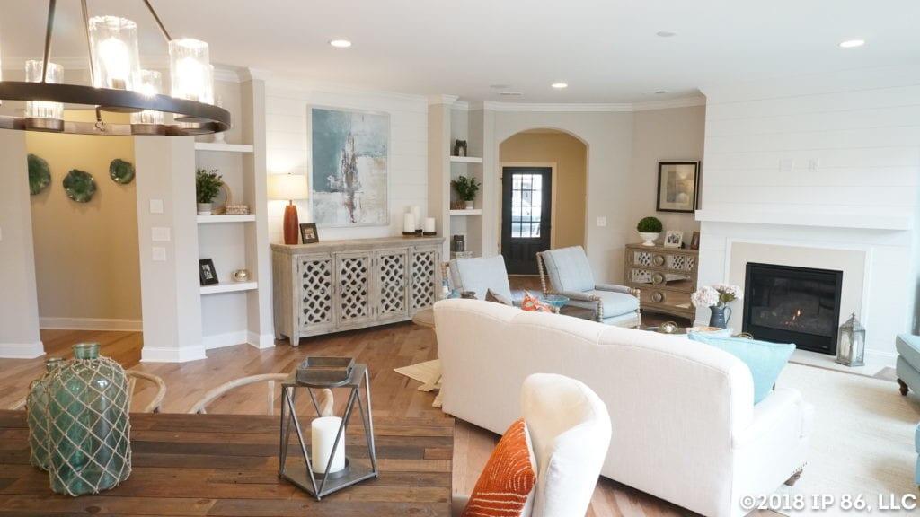 wesley chapel_promenade III_1707 wesley landing drive_interior_living_fireplace_foyer_dining