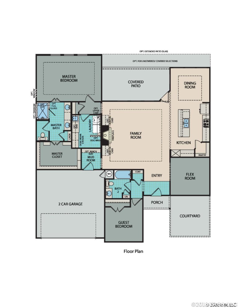 Avanti Floorplan_Texas model