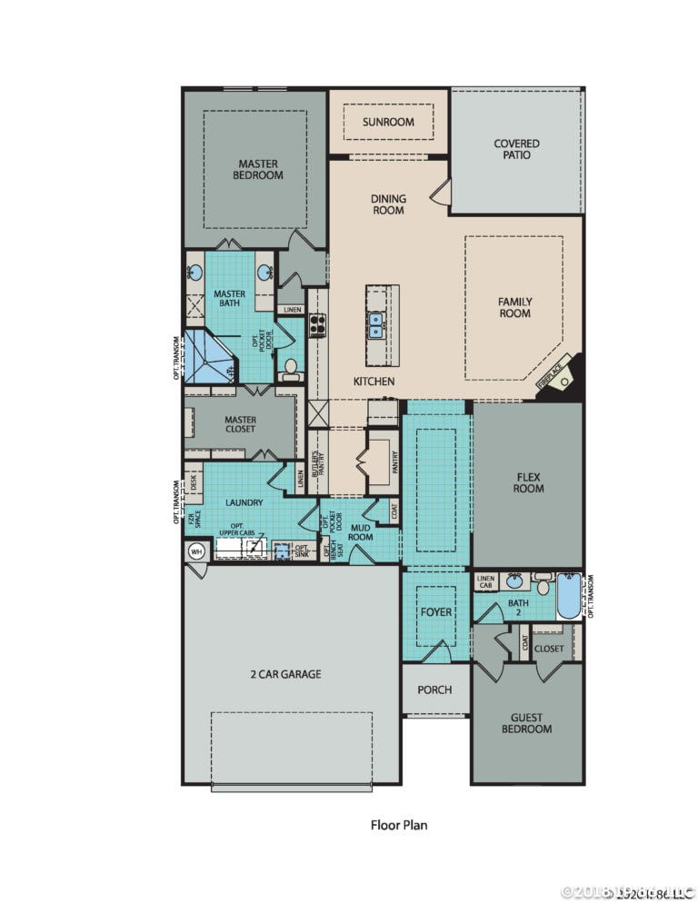 Casina Floorplan_Texas model
