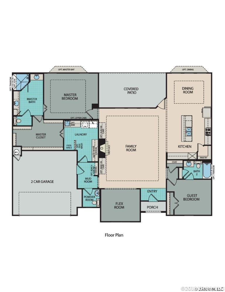 Toscana Floorplan_Texas model
