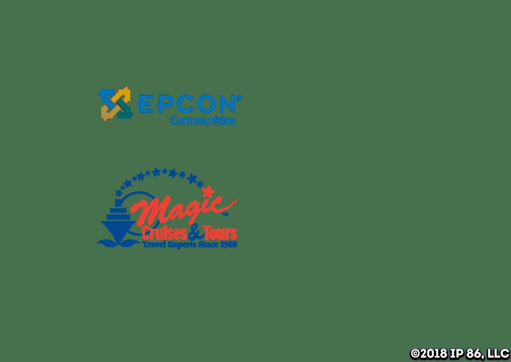 Epcon and Magic Cruises & Tours Logos