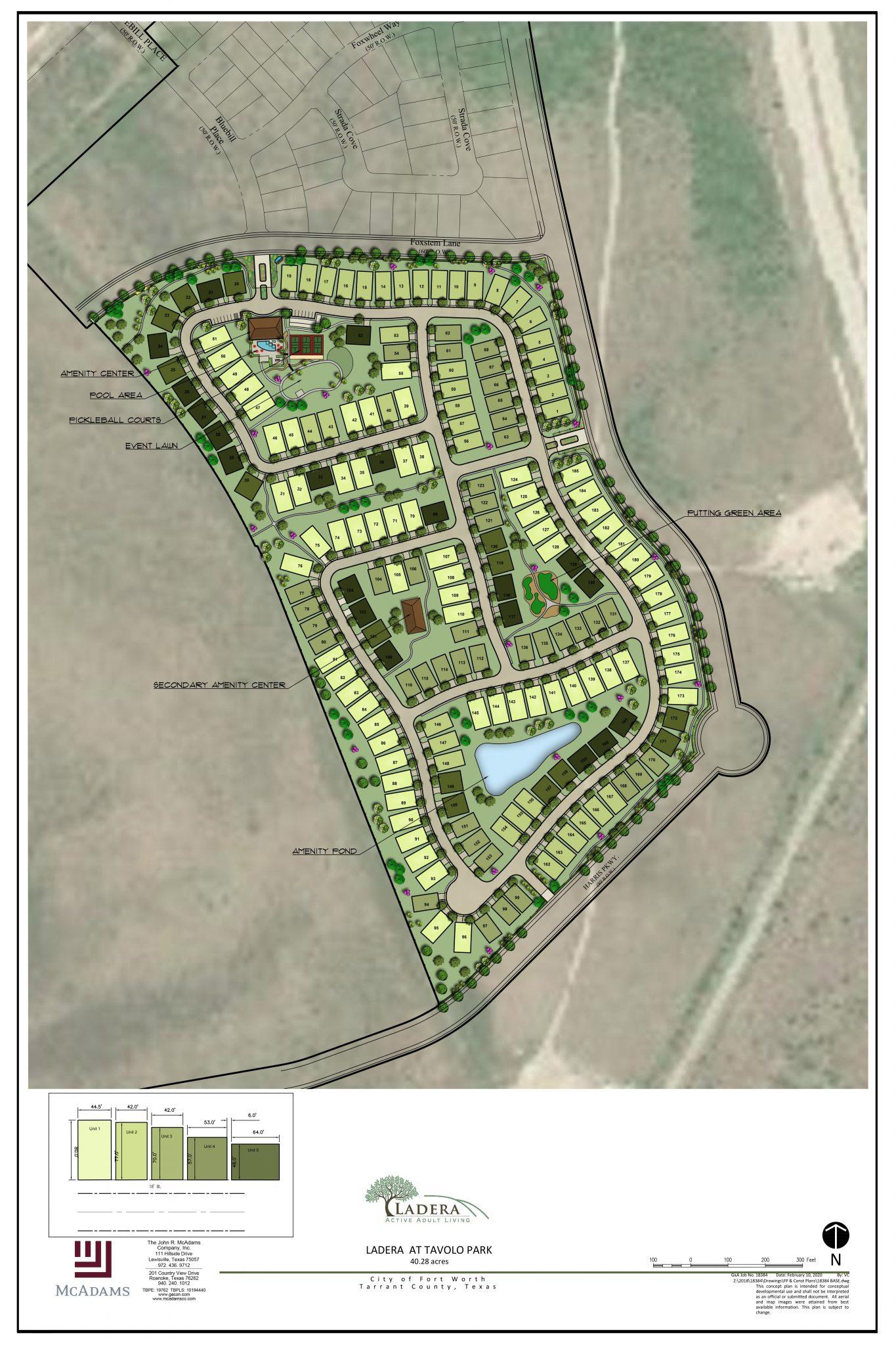 Ladera Tavolo Park_Site Plan