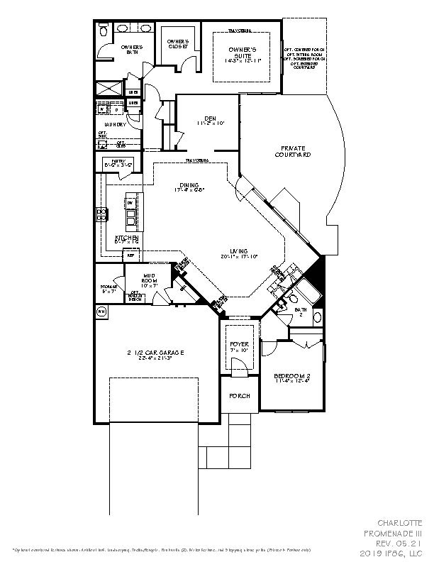 Epcon Charlotte_Floorplan_PromenadeIII